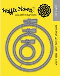 Embroidery Hoops - Waffle Flower Die