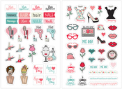 Beauty - Julie Nutting Planner Stickers