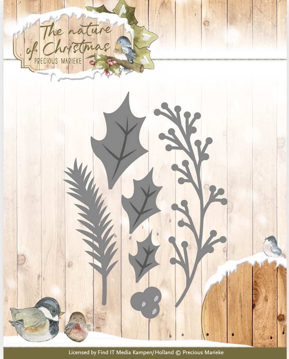 Christmas Florals - Find It Trading Precious Marieke The Nature Of Christmas Die