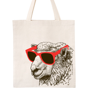 "Cool Sheep - Natural - Knit Happy Tote 14""X15""X4"""