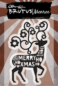 "Festive Deer - Brutus Monroe Clear Stamps 3""X4"""