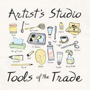 Artist's Studio - Attitude Artist Apron Natural
