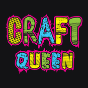 Craft Queen - Attitude Artist Apron Black