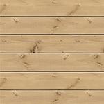 "Pine Plank - Jillibean Soup Mix the Media 3D Pine Wood Plank 14""x14"""