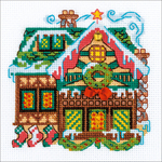 "6""X6"" 14 Count - Cabin With A Bell Counted Cross Stitch Kit"