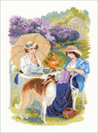 "11.75""X15.75"" 14 Count - The Russian Country Estate Counted Cross Stitch Kit"
