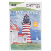 """Lighthouse - Mini Garden Flag 12""""X18"""""""