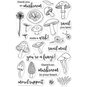"""You're A Fungi - Hero Arts Clear Stamps 4""""X6"""""""