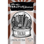 "City Sidewalks - Chicago - Brutus Monroe Clear Stamps 3""X4"""