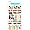 "Halloween - Paper House Life Organized Epoxy Stickers 6.5""X3.5"""