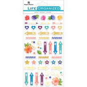 "Live Bold - Paper House Life Organized Epoxy Stickers 6.5""X3.5"""