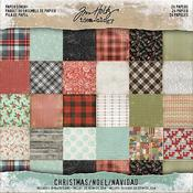 Christmas Double-Sided 8x8 Paper Pad - Tim Holtz