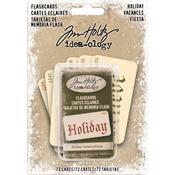 Holiday Old English Font Idea-Ology Double-Sided Flashcards