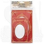 Christmas Idea-Ology Cabinet Card Frames 6/Pkg