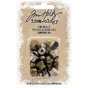 Antique Brass & Nickel Idea-Ology Tiny Metal Bells