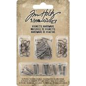 Hooks, Nails, Screw Eyes & Long Screws Idea-Ology Vignette Hardware Pack