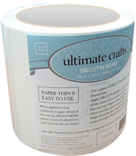 """Clear - Ultimate Crafts Diecut'N Bond Double-Sided Tape 4.72""""X82'"""