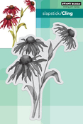 """Dancing Daisies - Penny Black Cling Stamps 4.4""""X6"""""""