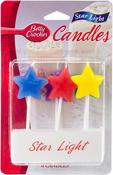 Star Light - Betty Crocker Birthday Candles 6/Pkg