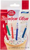 Rainbow Glow - Betty Crocker Birthday Candles 12/Pkg