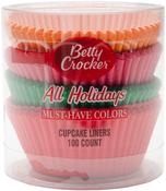 All Holiday 100/Pkg - Betty Crocker Standard Baking Cups