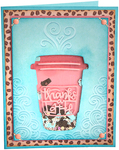 Thanks A Latte - Sizzix Impresslits Embossing Folder By Lindsey Serata