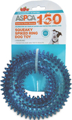 Blue - ASPCA Squeaky Spiked Ring Dog Toy
