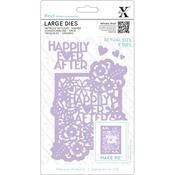 Happily Ever After - Xcut Decorative Dies Large 5/Pkg