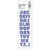 Bevelled - Xcut Alphabet Dies