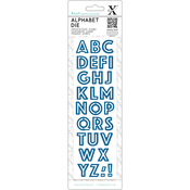 Outline - Xcut Alphabet Dies