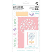 Folk Tree - Xcut Decorative Dies Large 8/Pkg