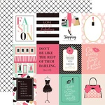 3 x 4 Journaling Card Paper - Fashionista - Echo Park