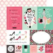 Multi Journaling Card Paper - Fashionista - Echo Park