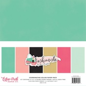 Fashionista Solids Paper Pack - Echo Park