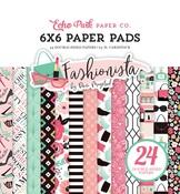 Fashionista 6 x 6 Paper Pad - Echo Park