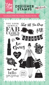 Simply Fabulous Stamp - Echo Park