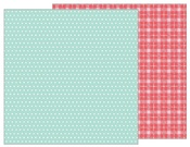 Mint Dots Paper - Forever My Always - Pebbles