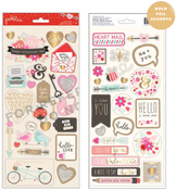 Forever My Always 6 x 12 Sticker Sheets - Pebbles