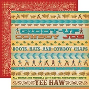 Giddy Up Paper - Cowboy Country - Carta Bella