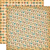 Teepees Paper - Cowboy Country - Carta Bella