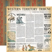 Western Territory Paper - Cowboy Country - Carta Bella