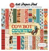 Cowboy Country 6 x 6 Paper Pad - Carta Bella