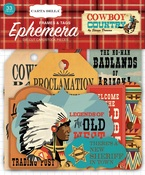 Cowboy Country Frames & Tags Ephemera - Carta Bella