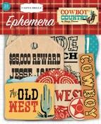 Cowboy Country Ephemera - Carta Bella