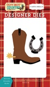Boot & Horseshoe Die Set - Carta Bella