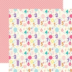 Birthday Countdown Paper - Happy Birthday Girl - Echo Park