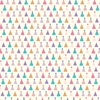 Party Hats Paper - Happy Birthday Girl - Echo Park