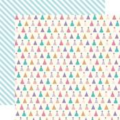 Party Hats Paper - Happy Birthday Girl - Echo Park