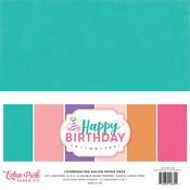 Happy Birthday Girl Solids Pack - Echo Park