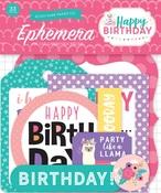 Happy Birthday Girl Ephemera - Echo Park
